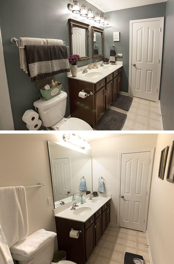 Bathroom Makeover on a Budget http://blog.homedepot.com/bathroom-makeover-on-a-budget/