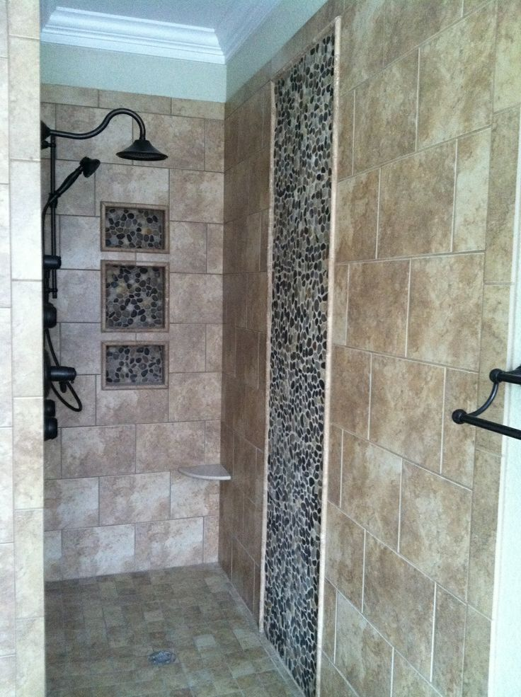 pictures to hang in master bathroom%0A Walk in shower master