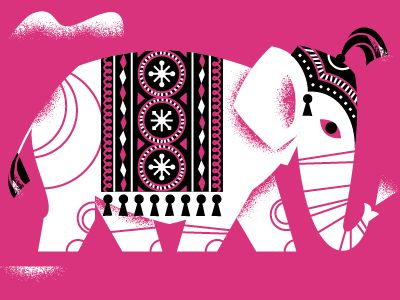 Elephant by Luke Bott