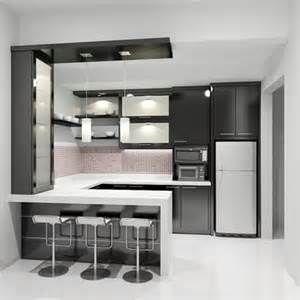 dapur persegi desain dapur dapur minimalis rumah dan home ideas ...