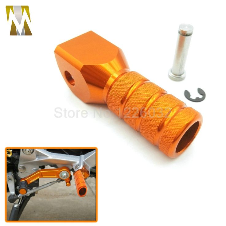 Orange Motorcycle Accessories CNC Aluminum Shift Lever Toe Peg For KTM EXC 125/200/250/300/380/400/450/500/520/525/530 EXC-F