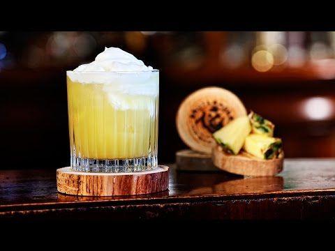 Københavnerstang Skotlander Spirits - hvid rom, Galliano, ananasjuice, flødeskum