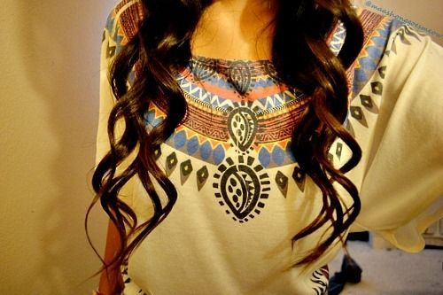 tribal shirt: Fashion, Hair Styles, Shirts, Clothes, Dream Closet, Hairs, Curls, Beauty, Top