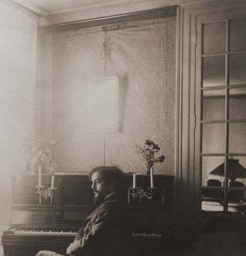 Debussy at the Fontaine home, Mercin, Aisne — a treasured holiday spot.