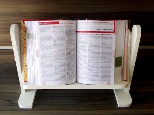 suporte  de mesa p/ livros leitura estudos 15 mm resistente