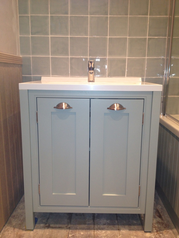 Hand Painted Vanity Unit Denas Beach House Pinterest Painted Vanity Vanity Units And Vanities
