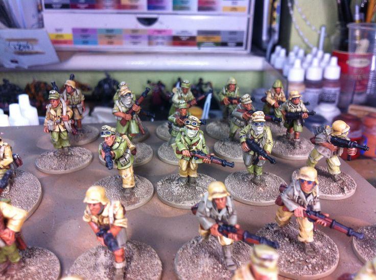 Close up Afrika Korps