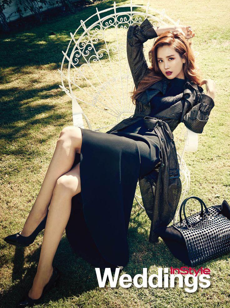 Lee Da Hae - InStyle Weddings Magazine September Issue '14