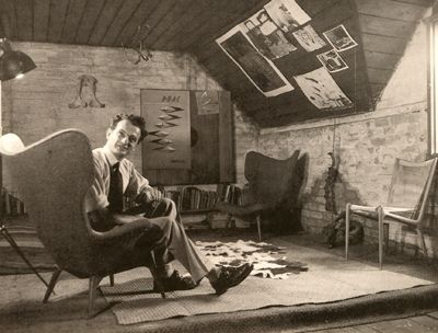 grant featherston himself in his studio