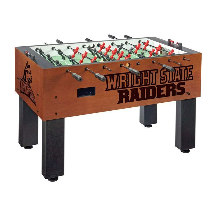 Wright State Raiders Laser Engraved Foosball Table Soccer