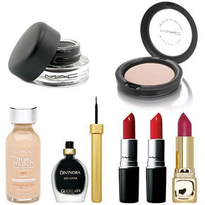 dita von teese makeup bag | The Glam Guide: Celeb Makeup Bag: Dita Von Teese