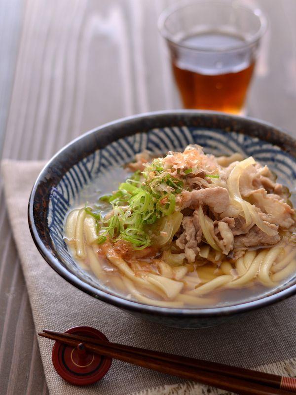 至福の肉うどん by 西山京子/ちょりママ   レシピサイト「Nadia   ナディア」プロの料理を無料で検索