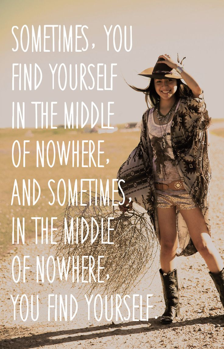 sometimes you find yourself in the middle of nowhere, and sometimes, in the middle of nowhere you find yourself. {junk gypsy co}
