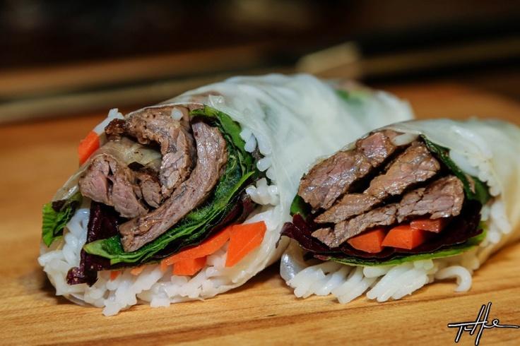 The Viet-Mex Saga Continues, Carne Asada Spring Rolls - Fusion Food! http://viaggi.asiatica.com/