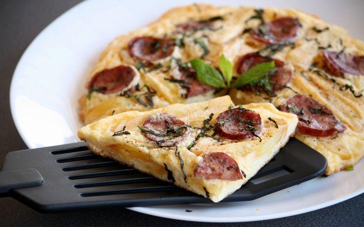 #φρουτάλια #traditional #omelette #andros #egg