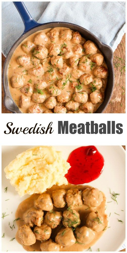 ... swedish meatballs easy swedish meatballs and smashed potatoes recipe