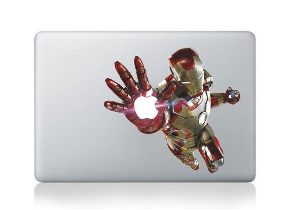 Iro manMacbook Decal Macbook Sticker Mac Decal Mac by SoGoodLuck