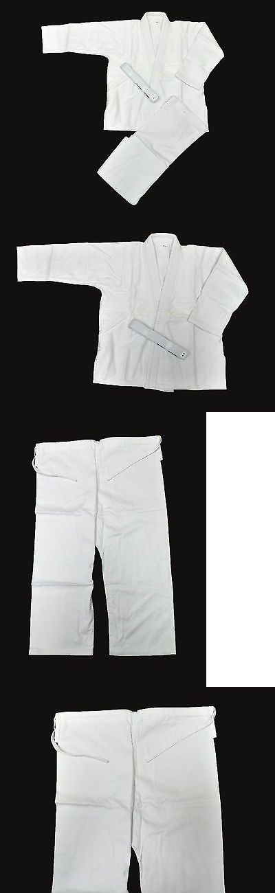 Uniforms and Gis 179774: White Thick Cotton Fuji Jiu Jitsu Judo Sambo Gi Kimono Sz. A2 -> BUY IT NOW ONLY: $40.0 on eBay!