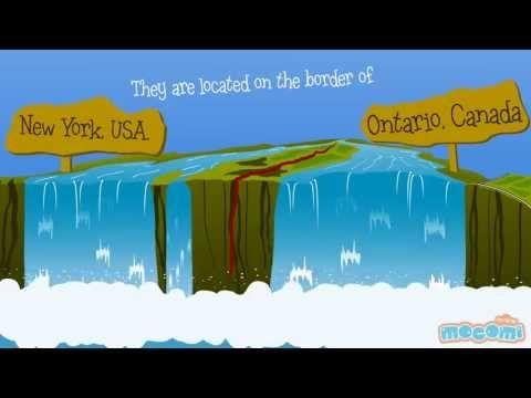 Niagara Falls : Fun fact series EP08 | Mocomi Kids