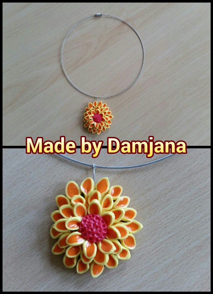 Handmade by polymer clay
