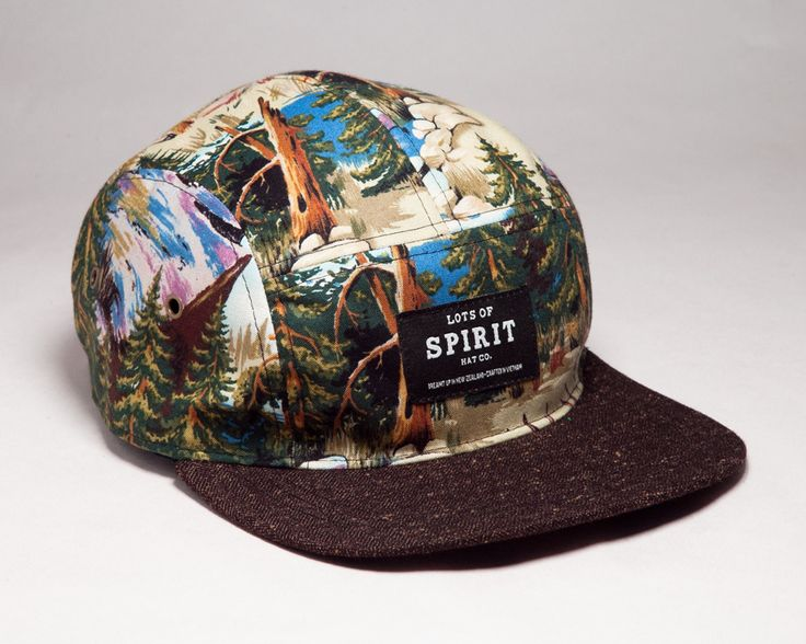 Lots of Spirit Hat Co. — Forester 5 Panel