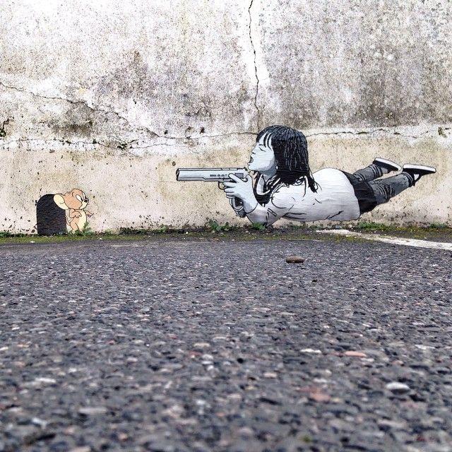 @nme1 #pasteup in #dawlish