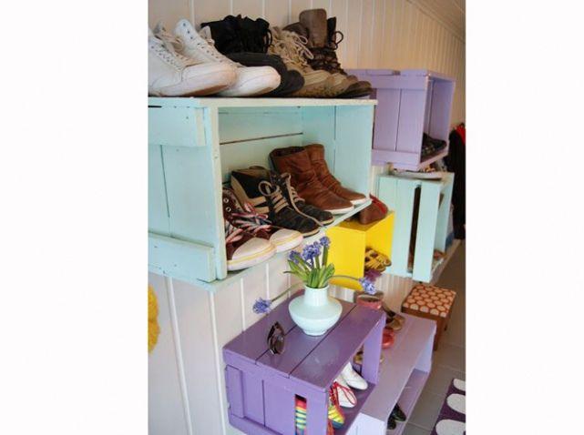 Rangement Chaussures Cagette