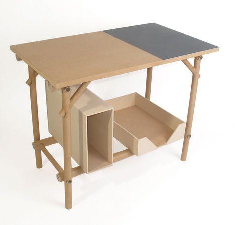 cardboard tube furniture. Puck System By International. Design StudiosCardboard TubesDining TableIndustrial DesignGirlsFurnitureDining Cardboard Tube Furniture F