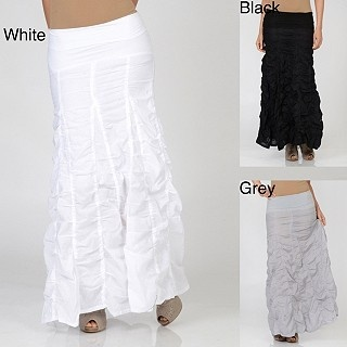 i'd wear them all!Voile Bubbles, Elan Women, Long Skirts, Bubbles Skirts, Long Voile, Fun Skirts, Overstock Com, Women Long, Women Clothing