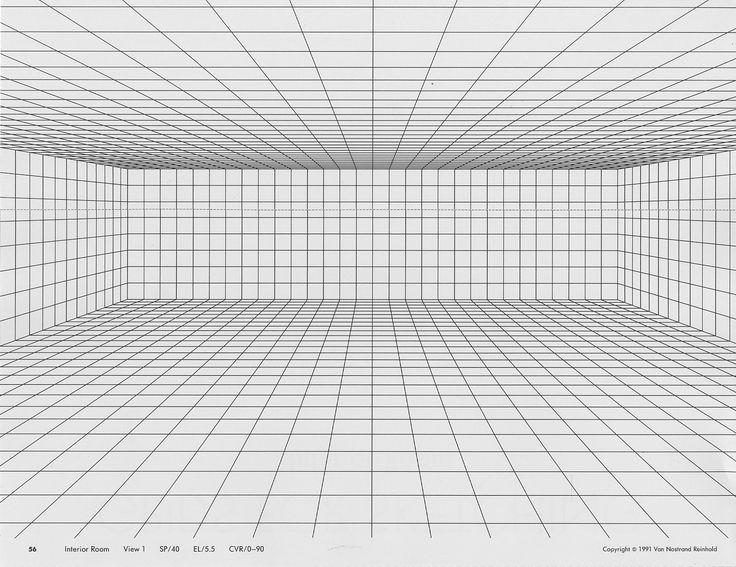 53 best apuntes y perspectivas images on pinterest for Room grid