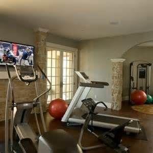 Basement Home Gym Design Ideas 20 Home gym decor - InteriorDecorating.