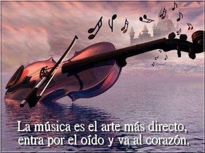 Frases Bonitas Para Facebook: Imagenes Con Bonitos Mensajes Sobre La Musica