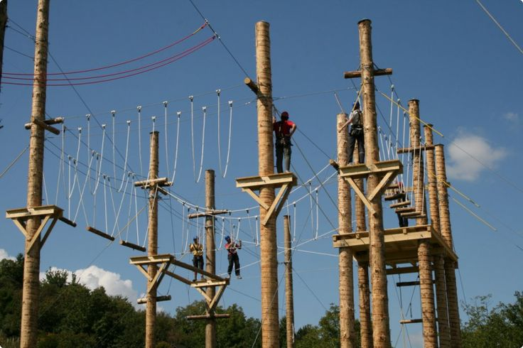 Ropes Course #zagreb #stagdo