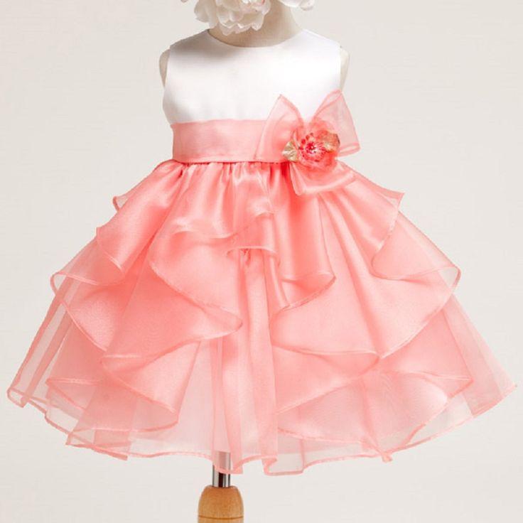 168 best vestidos criança images on Pinterest | Flower girl dresses ...