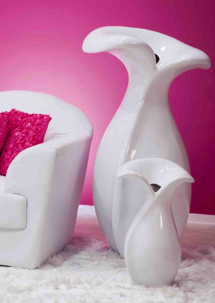 M s de 25 ideas incre bles sobre jarrones decorativos en for Casa de diseno henry beltran