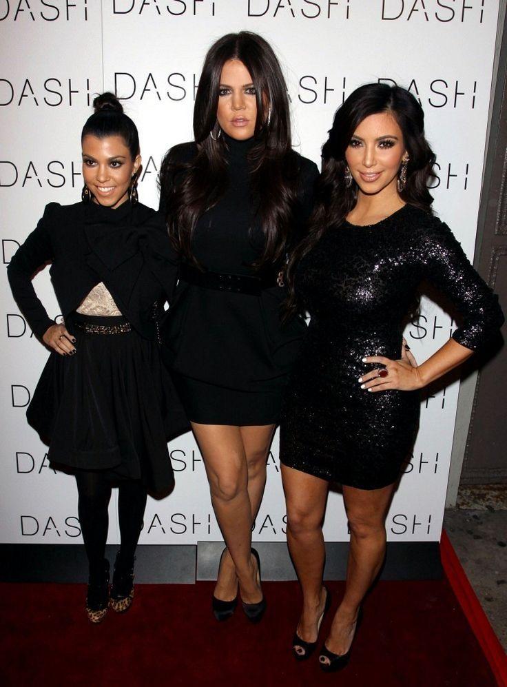 The Kardashian Girls Open DASH NYC