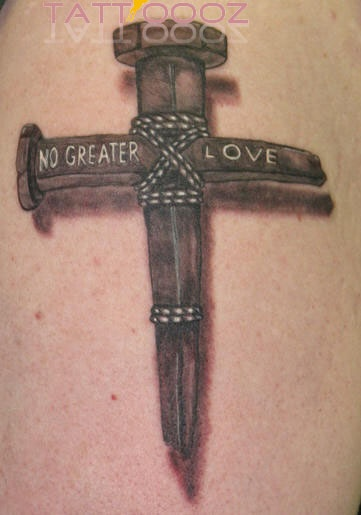 Cross Tattoo Picture With Designs