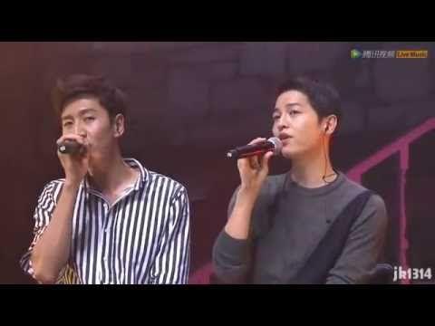 160611 송중기 이광수 Song Joong Ki Lee Kwang Soo sing 두 사람 Two People 宋仲基 李光洙