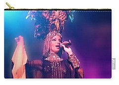 Carry-all Pouch featuring the digital art Cuban Song by Francesca Mackenney