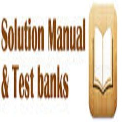 Test Bank and Solution Manuals