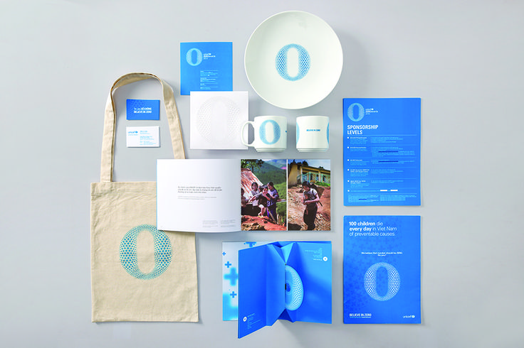 "GRAPHIC DESIGN OF YEAR 2013 Design Awards Winners: Creative Directors: Chi-An De Leo-Joshua Breidenbach, Designers: Nguyen Huynh-Hai Nguyen-Jennifer Chan-Kornelia Engqvist ""UNICEF ZEROawards"""