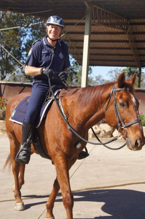 Troop Horse' Jackpot' and Sergeant Roy Mientjes