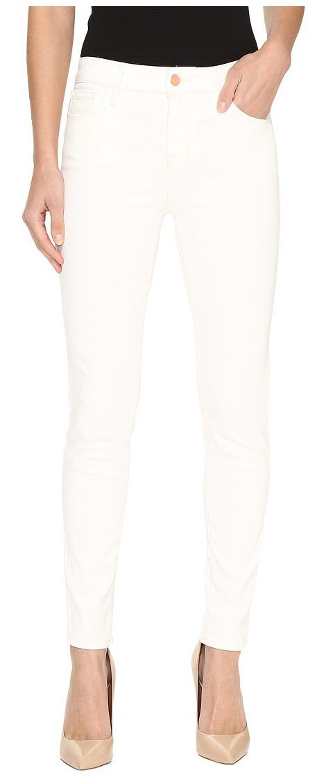 Sanctuary Robbie High Ankle Pants (Ecru) Women's Jeans - Sanctuary, Robbie High Ankle Pants, Q0318D38ECR-105, Apparel Bottom Jeans, Jeans, Bottom, Apparel, Clothes Clothing, Gift - Outfit Ideas And Street Style 2017