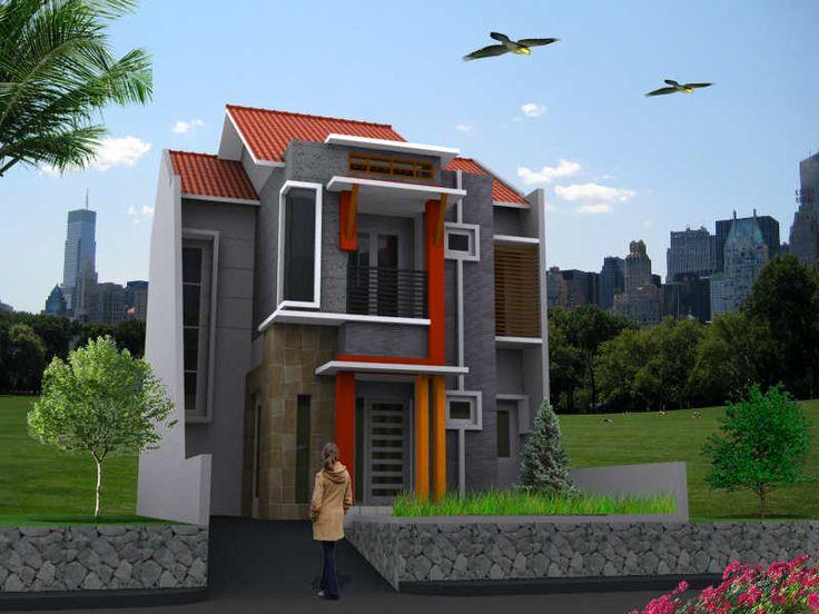101 Desain Rumah Minimalis Hook 2 Lantai Sederhana Terbaik