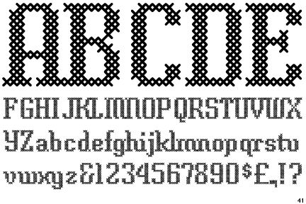 http://www.identifont.com/samples/gallo/CrossStitchClassic.gif