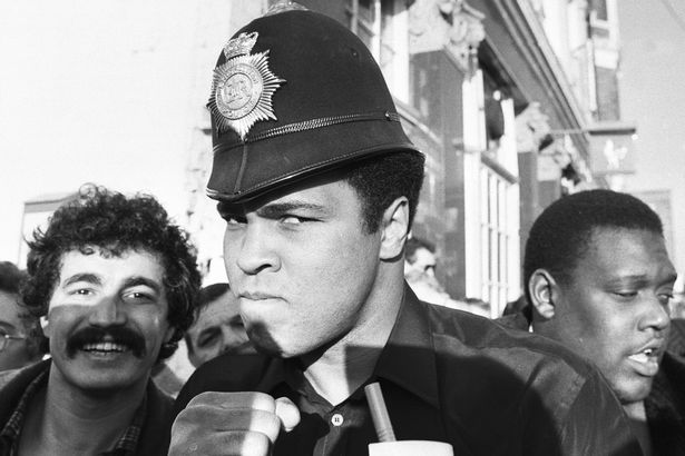 Muhammad Ali had a 50 year love affair with Britain and he always ...