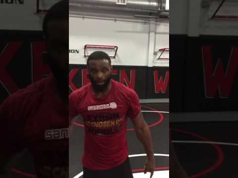 A message from UFC Champ Tyron Woodley
