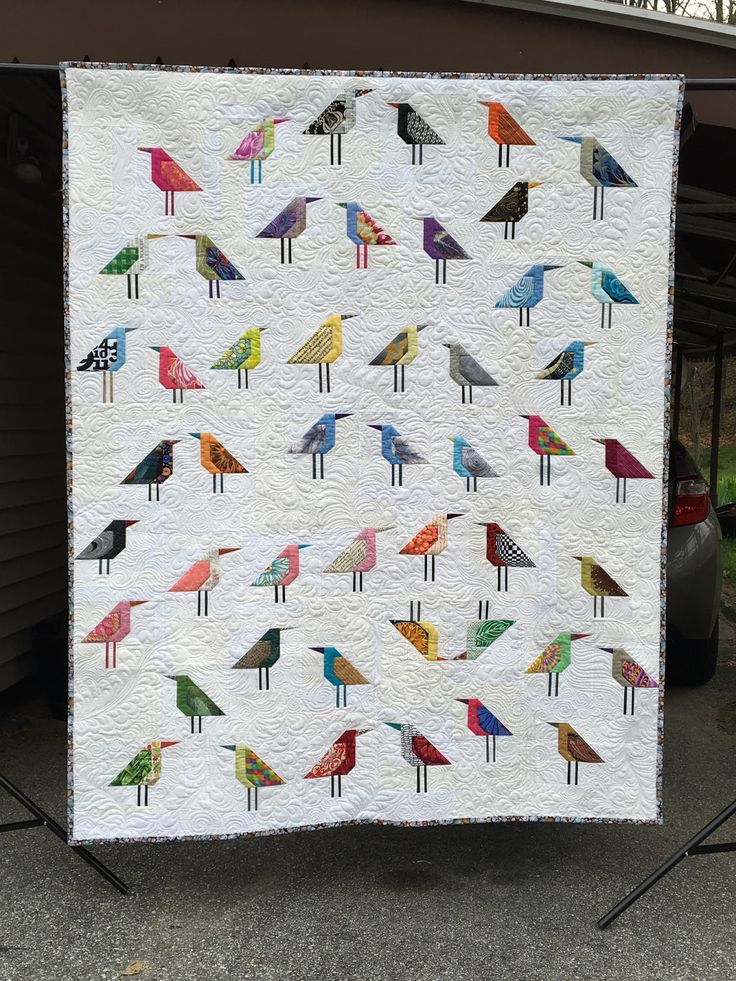 Flight of Fancy bird Quilt, Lynn Tyler quilt