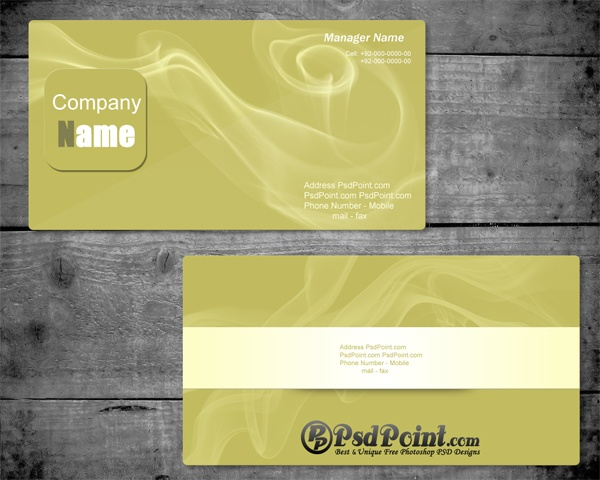 27 best business cards images on pinterest business cards double sided business card with smoke effects psd design free download reheart Choice Image