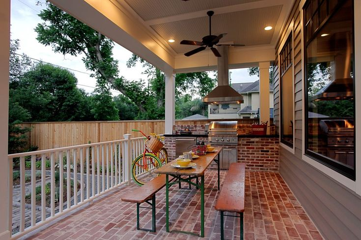 Small Outdoor Kitchens Landscape Modern with Paver Traditional Grill Tools and Accessories
